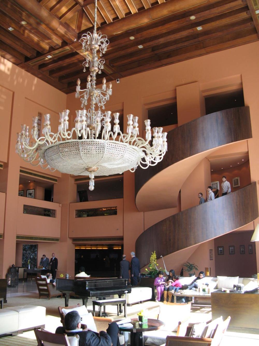 Sofitel Hotel Lobby Cairo, Egypt