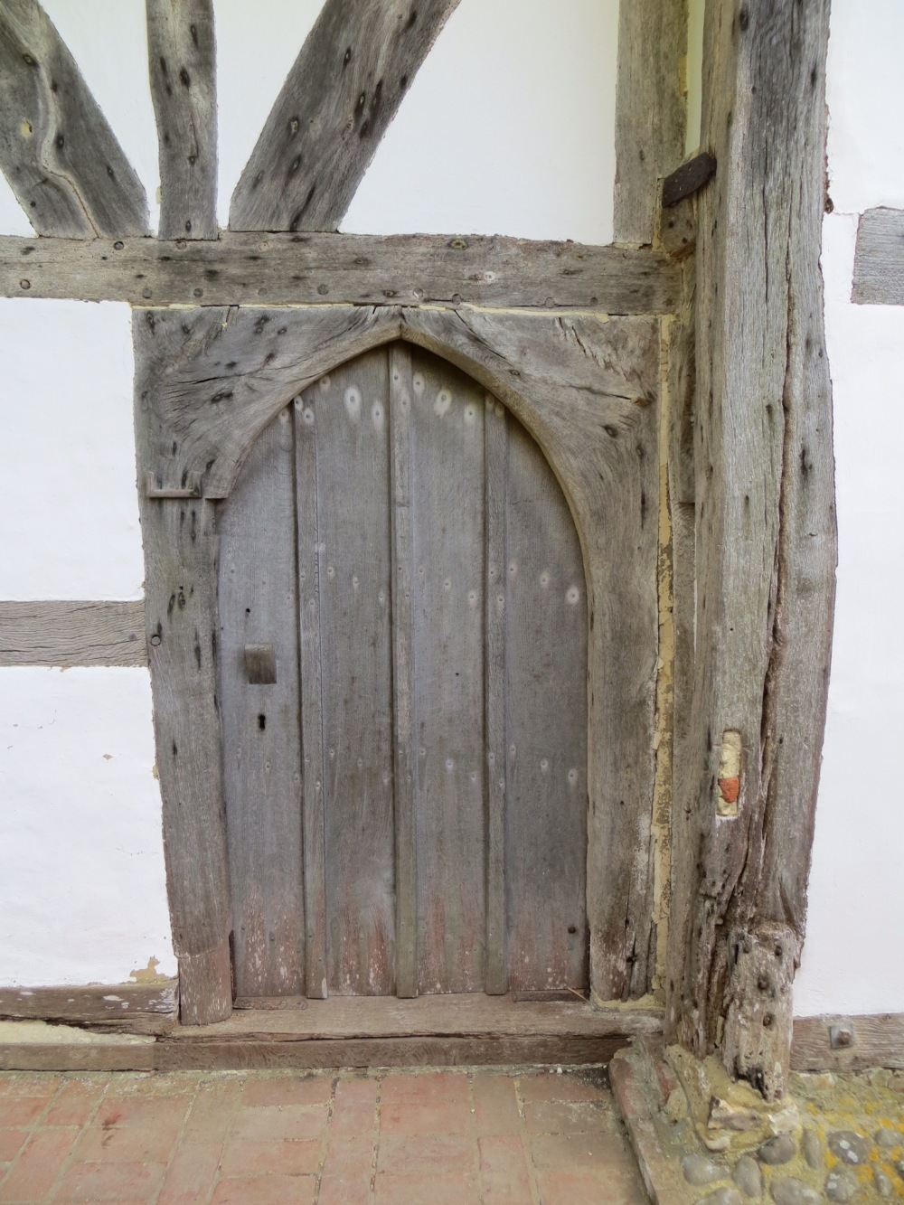 The Clergy House Door, Alfriston Village