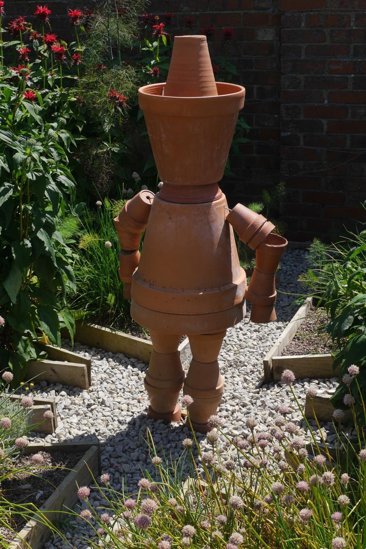 Pot Head in the Garden
