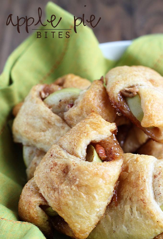 Granny Smith Apple Pie Bites