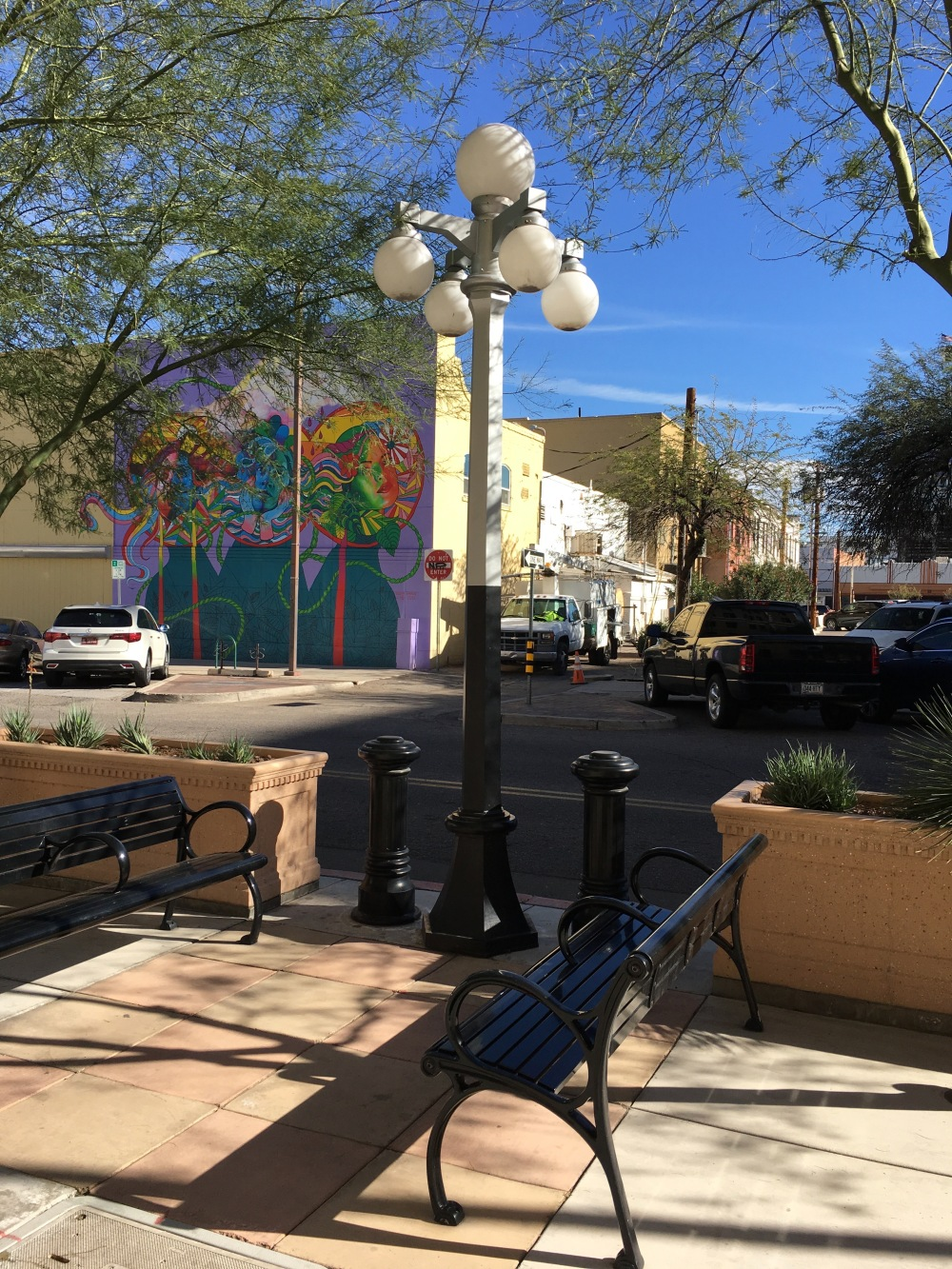 Along the Walk in Tucson, AZ