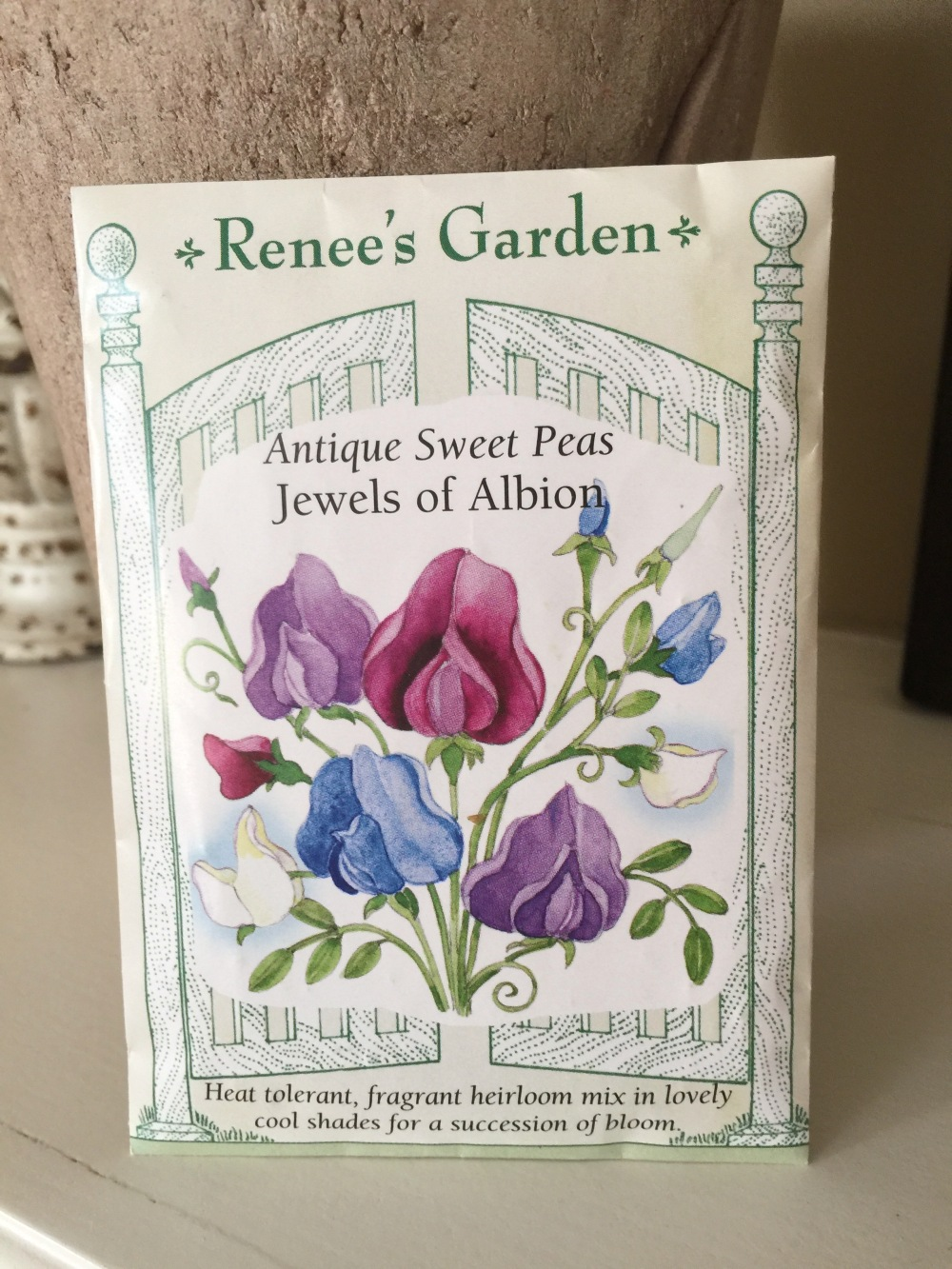 Heirloom Jewels of Albion Sweet Pea Seeds